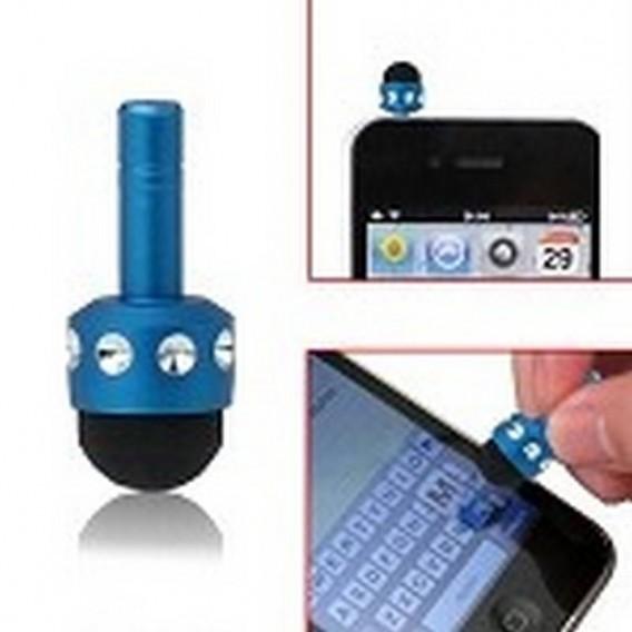 mini boli para iphone, ipad, ipod color azul