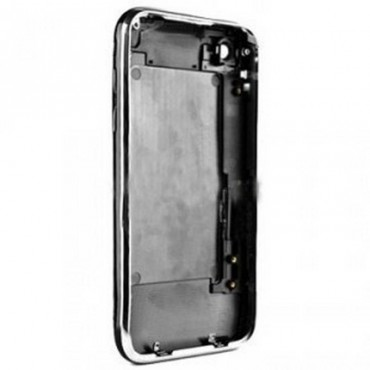 carcasa trasera negro con marco metalico iphone 3GS de 16GB