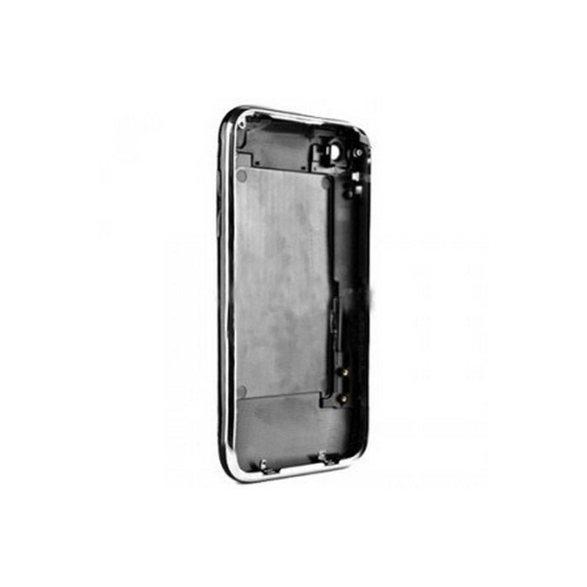 CARCASA traseira PRETO com marco metalico iphone 3GS de 16GB