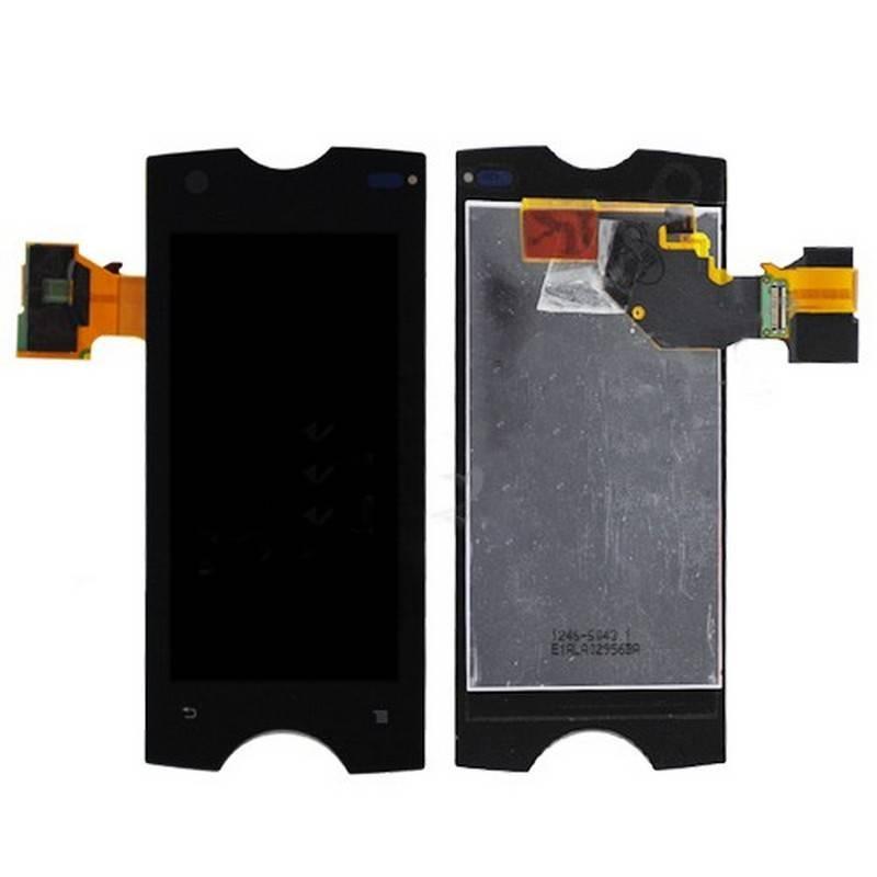 Display completo com ecrã digitalizadora e ventana tactil para Sony Ericsson Xperia Ray ST18i