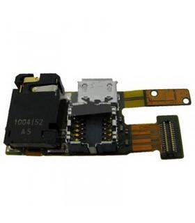 Cable flex Nokia 5330, de cámara, con conector de carga, y conector de auriculares