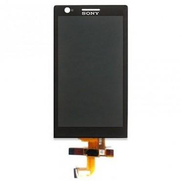 Ecrã LCD + tactil frontal Xperia P LT22i