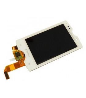 Pantalla Completa tactil+lcd Sony Ericsson Mini Pro SK17i blanca