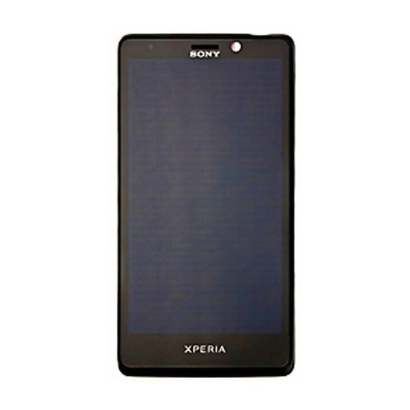 Pantalla Original Completa: lcd + táctil + carcasa frontal Sony Xperia T LT30p