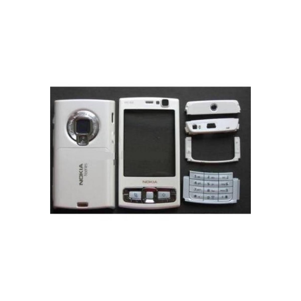 carcaça branca para nokia N95 8GB COMPLETA