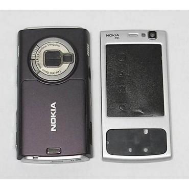 carcasa Gris para NOKIA N95, COMPLETA
