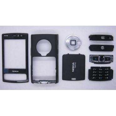 carcasa negra para NOKIA N95, COMPLETA