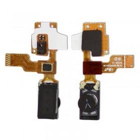 Cabo flex com altavoz fone de ouvido+ MICROFONO de Samsung Galaxy Mini S5570