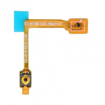Botón de encendido Flex Cable plano para Samsung Galaxy Note N7100
