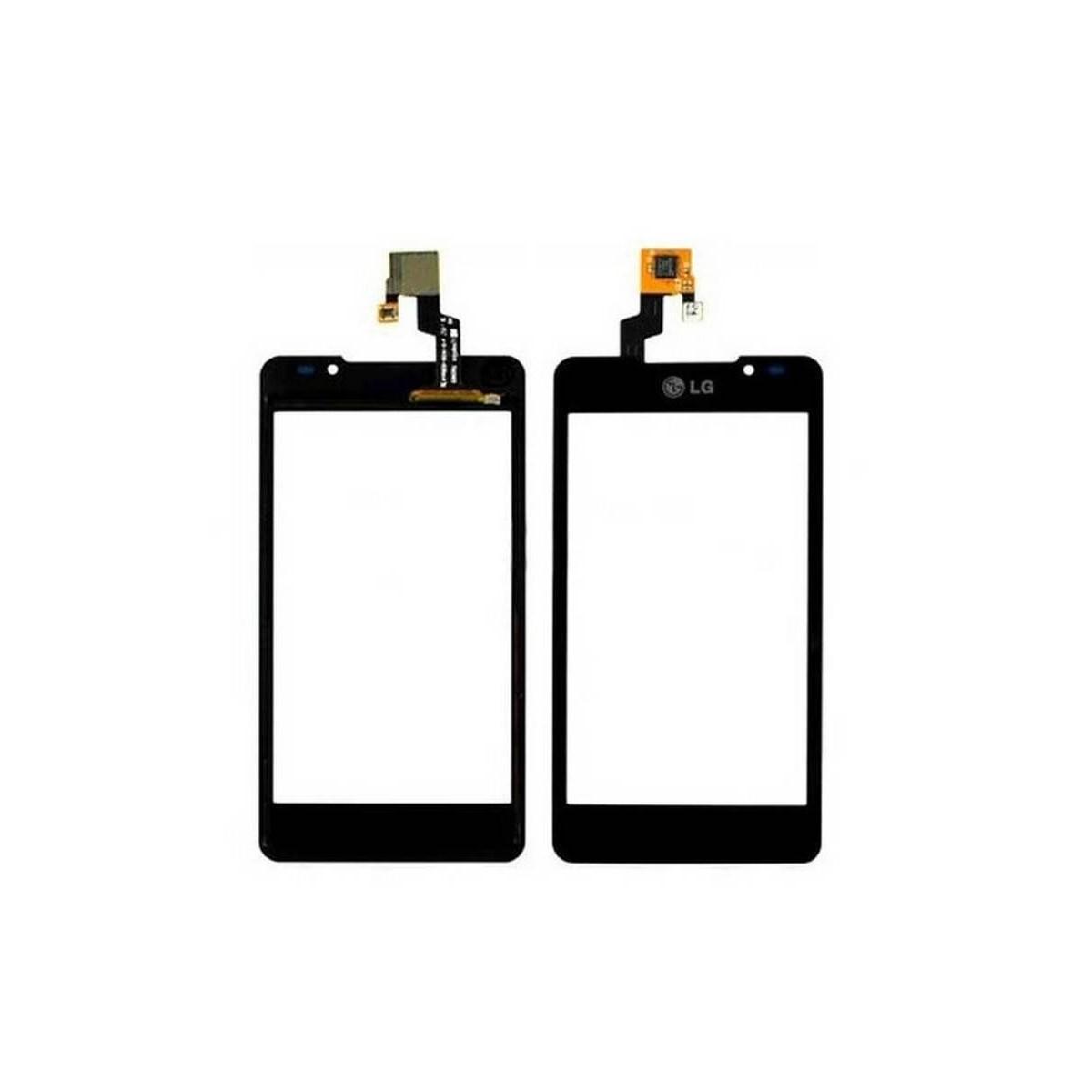 ECRÃ TACTIL de LG P720 Optimus 3D MaX cor preto