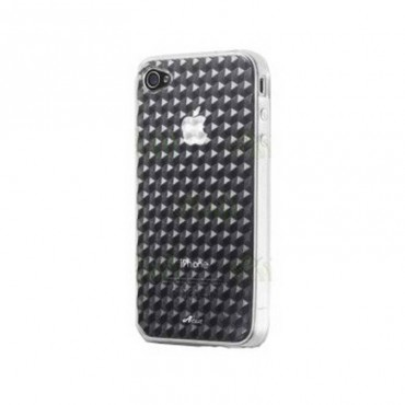 funda silicona color trasparente para iphone 5 5s
