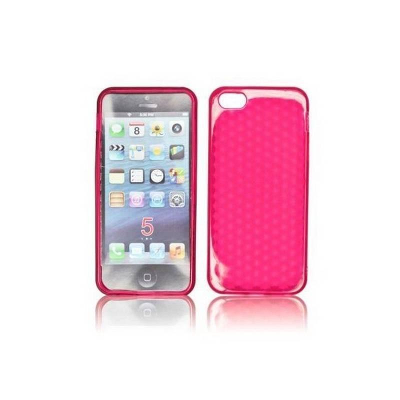 funda silicona rosa
