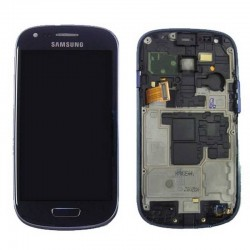 Pantalla Completa (Display + Tactil) para Samsung Galaxy S3 Mini, I8190 Azul