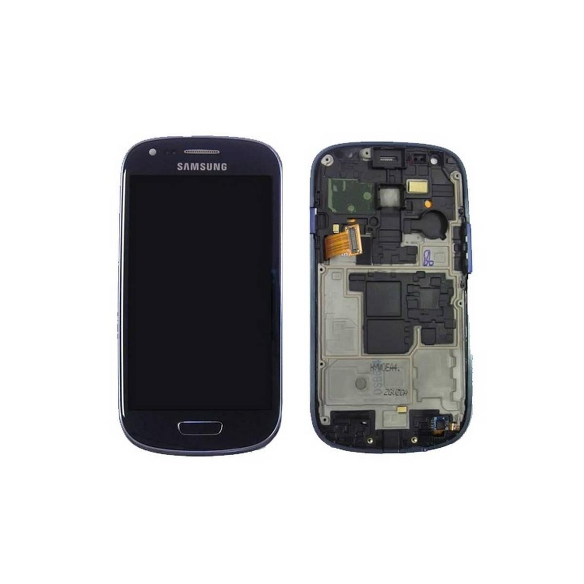 Ecrã Completa (Display + Tactil) para Samsung Galaxy S3 Mini, I8190 Azul