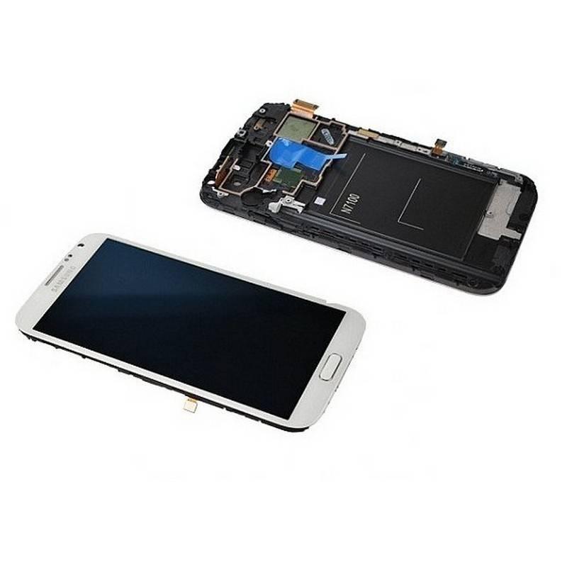 Ecrã Completa BLANCA de Samsung N7100,Galaxy Note 2