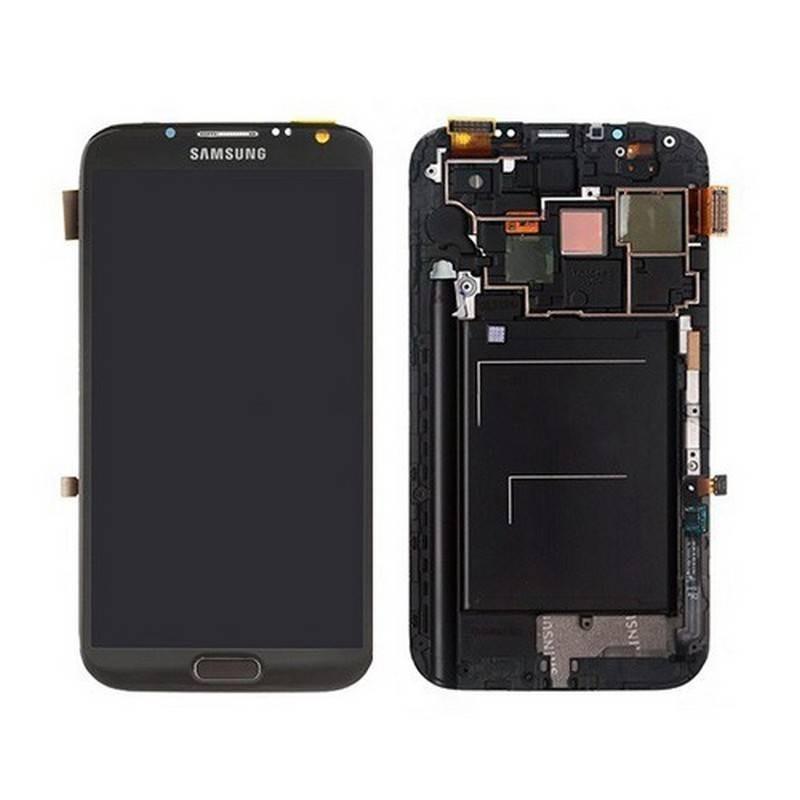 Ecrã Completa GRIS de Samsung N7100,Galaxy Note 2