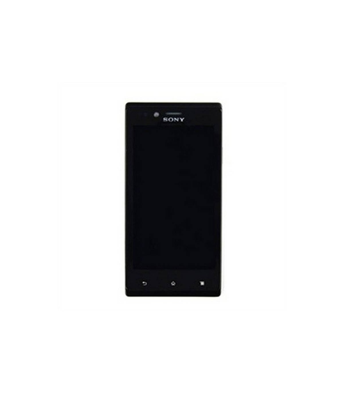 Ecrã completa preta para Sony Xperia J ST26i/ST26a