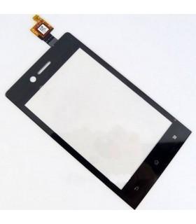 táctil preta para Sony Xperia Miro, ST23i