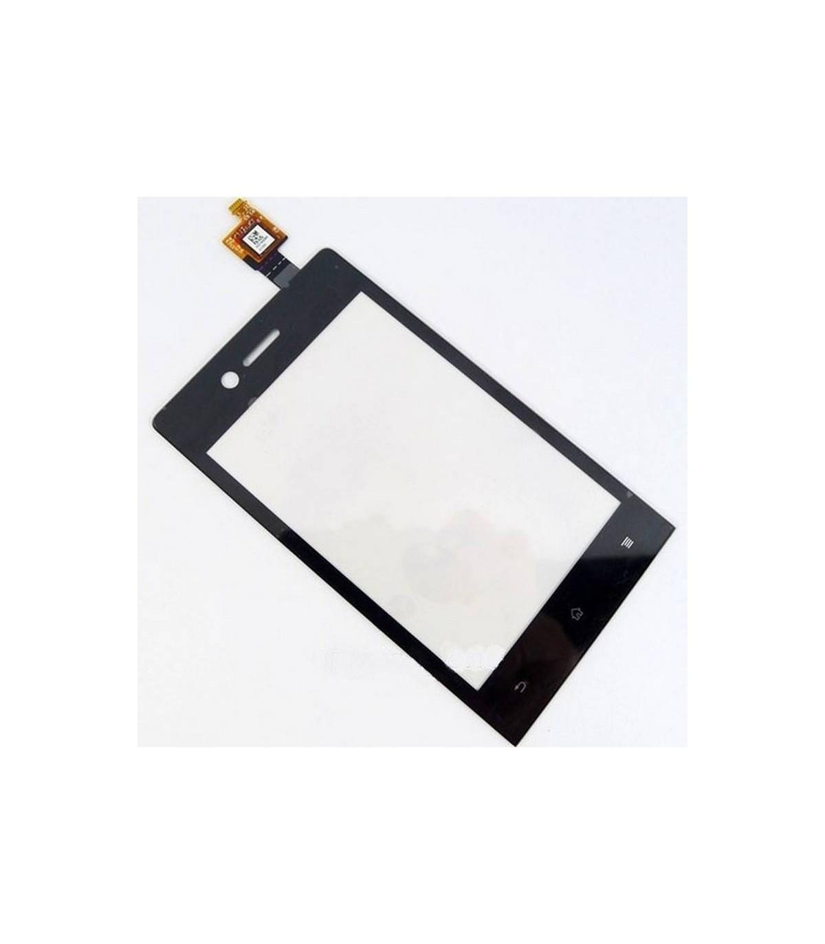 táctil negra para Sony Xperia Miro, ST23i