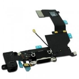 conector carga y auricular iphone 5 negro