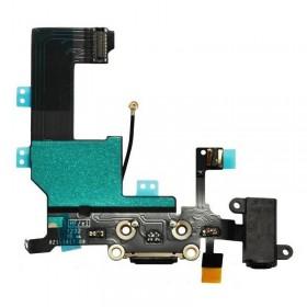 conetor carrega e fone de ouvido iphone 5 preto