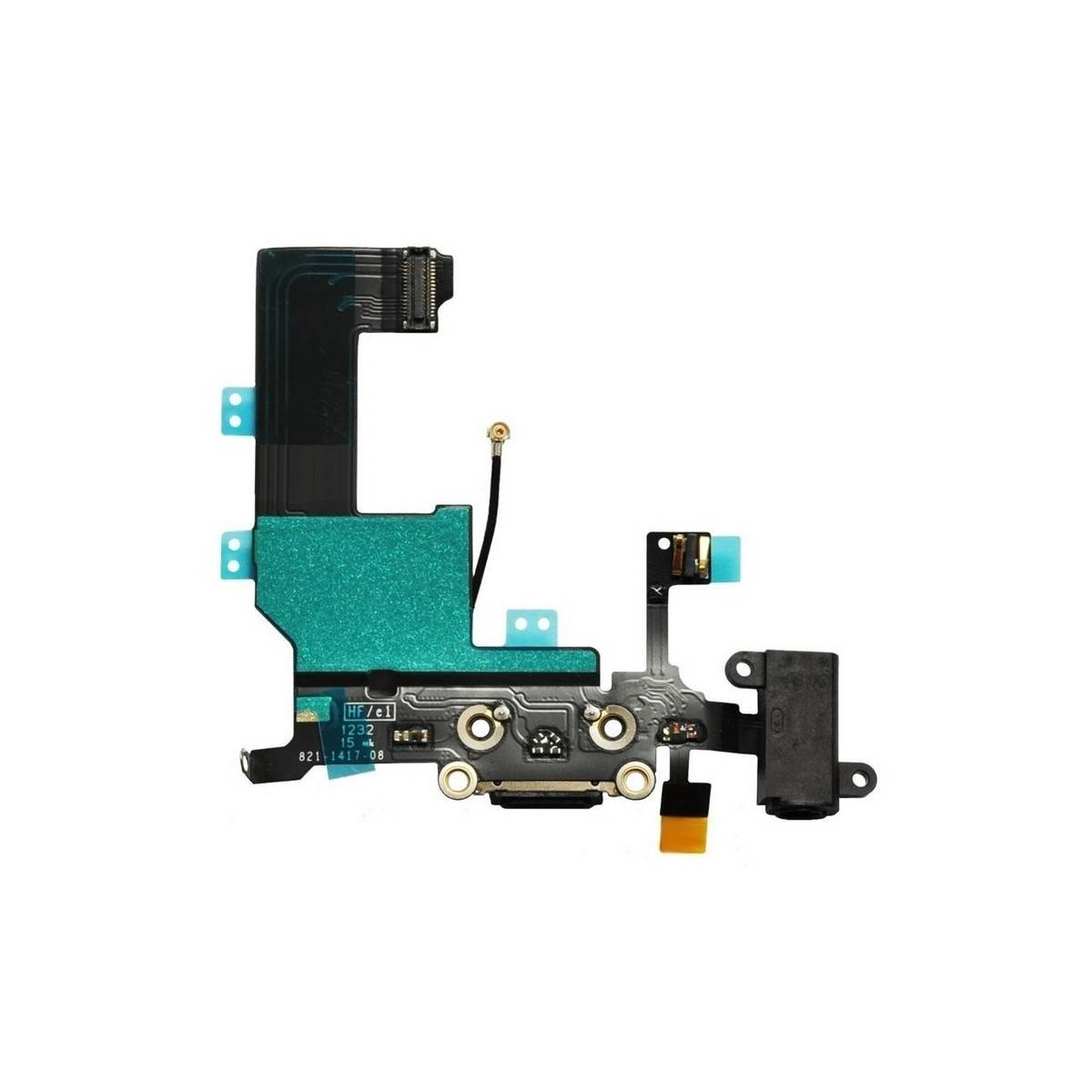 Flex Dock auricular microfono iPhone  (Negro)