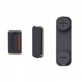 Kit Botones iPhone 5- Negro