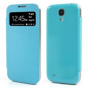 FUNDA carcaça Samsung I9500, S4 azul