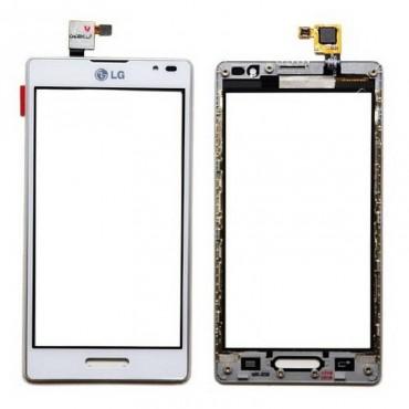 tactil COM marco LG L9 P760, branco