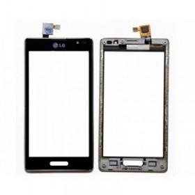 tactil com marco LG L9 P760, Preta