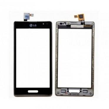 tactil con marco LG L9 P760, Negra