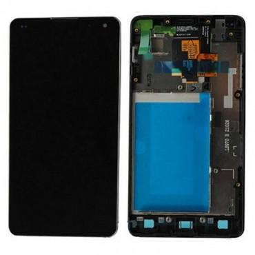 pantalla completa para lg optimus G e975 con marco color negro