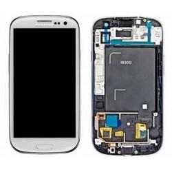 pantalla COMPLETA Samsung Galaxy S3 I9300, COMPATIBLE BLANCA