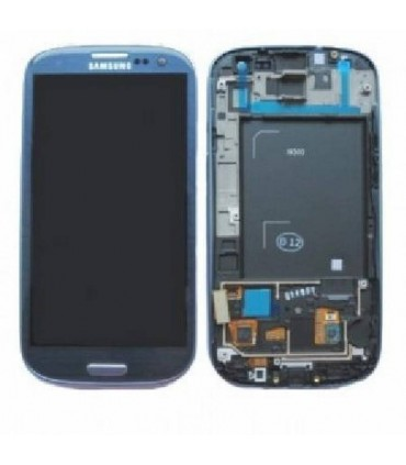pantalla COMPLETA Samsung Galaxy S3 I9300, COMPATIBLE azul