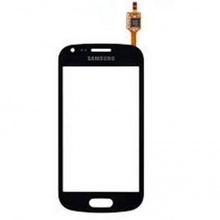 Ecrã tactil Preto para Samsung Galaxy Trend S7560, Duos S7562