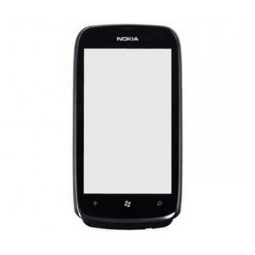 tactil com marco Nokia Lumia 610 PRETO ORIGINAL