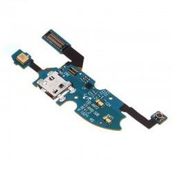 Flex con conector de Carga y Accesorios, Micro USB y micrófono para Samsung Galaxy S4 Mini, I9195