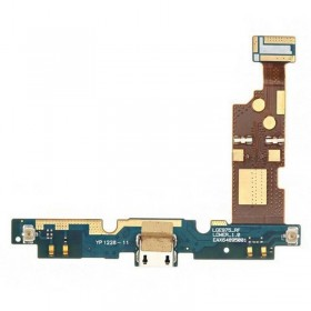 conector de carga con Flex y MICRO LG Optimus G E975, E973