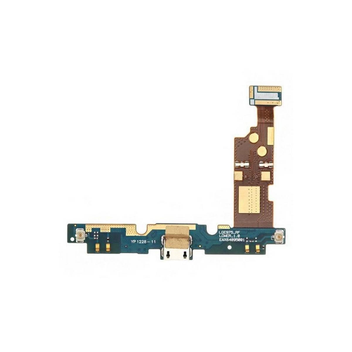 CONECTOR DE CARGA COM FLEX Y MICRO LG OPTIMUS G E975, E973