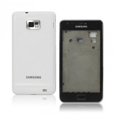 carcasa Samsung Galaxy S2, I9100 BLANCA