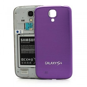 TAPA METALICA COLOR MORADO SAMSUNGALAXY S4 I9500