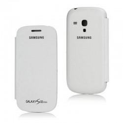FUNDA tapa Samsung Galaxy S3 MINI I8190 BLANCA