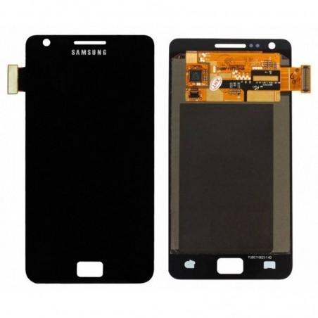 Ecrã sin marco Samsung Galaxy I9100, S2 PRETA