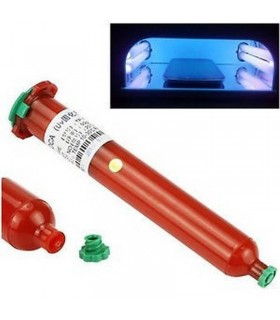 Pegamento, gel Ultravioleta LOCA UV Tipo 2500F para pegar el Digitalizador, Pantalla táctil 50g