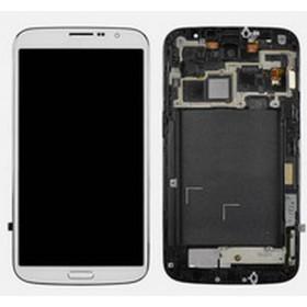 Ecrã branca samung galaxy mega 6.3 I9200 I9205 sin marco