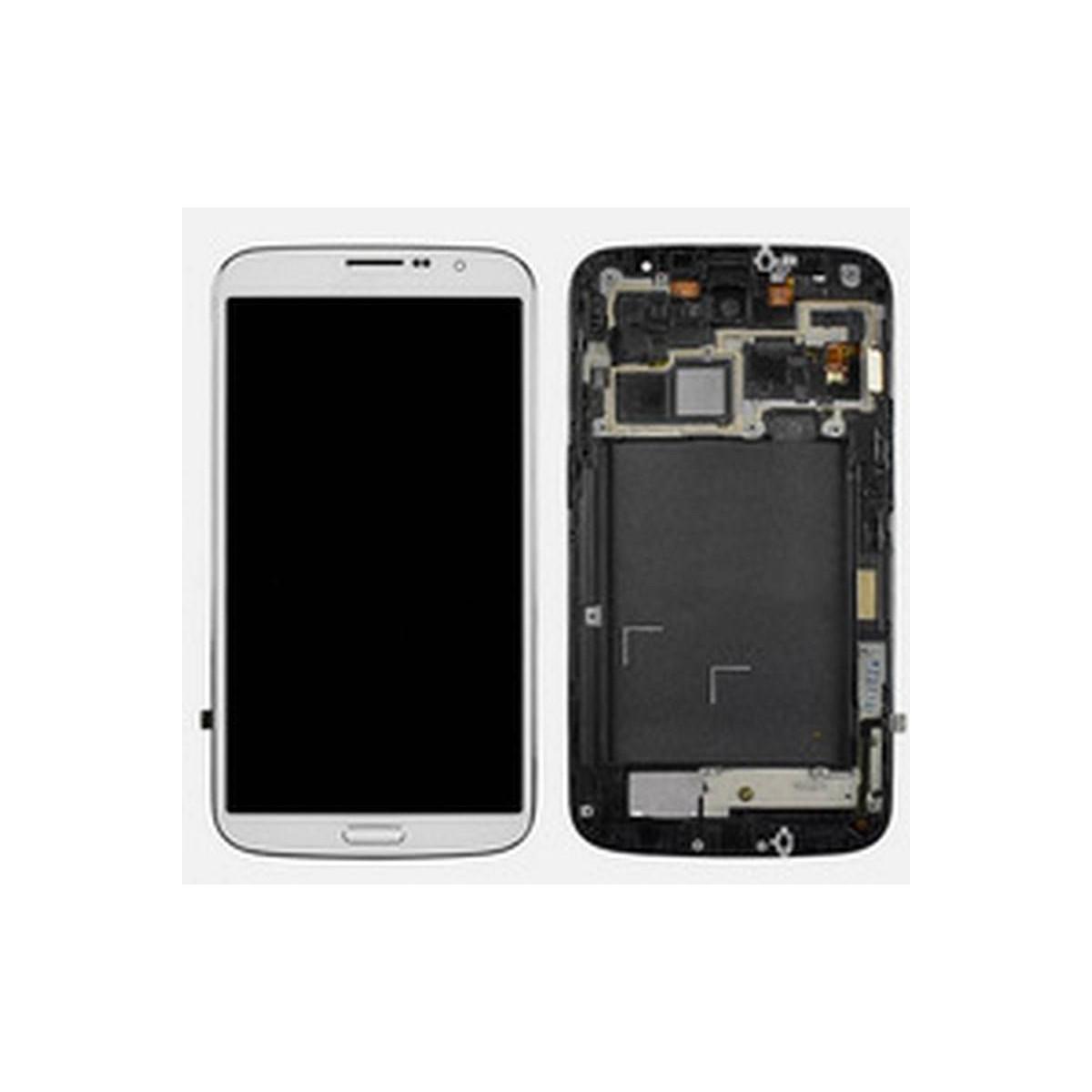 Ecrã completa com marco branca samung galaxy mega 6.3 I9200 I9205