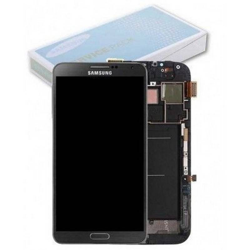 CARCASA FRONTAL & PANTALLA LCD PARA SAMSUNG GALAXY NOTE 3 N9005  GRIS
