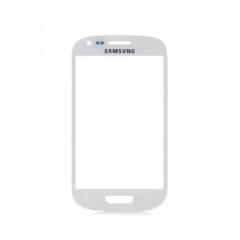 Cristal para samung galaxy s3 mini i8190 en color blanco