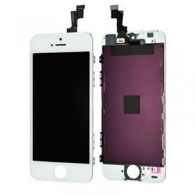 Pantalla para iphone 5s blanca