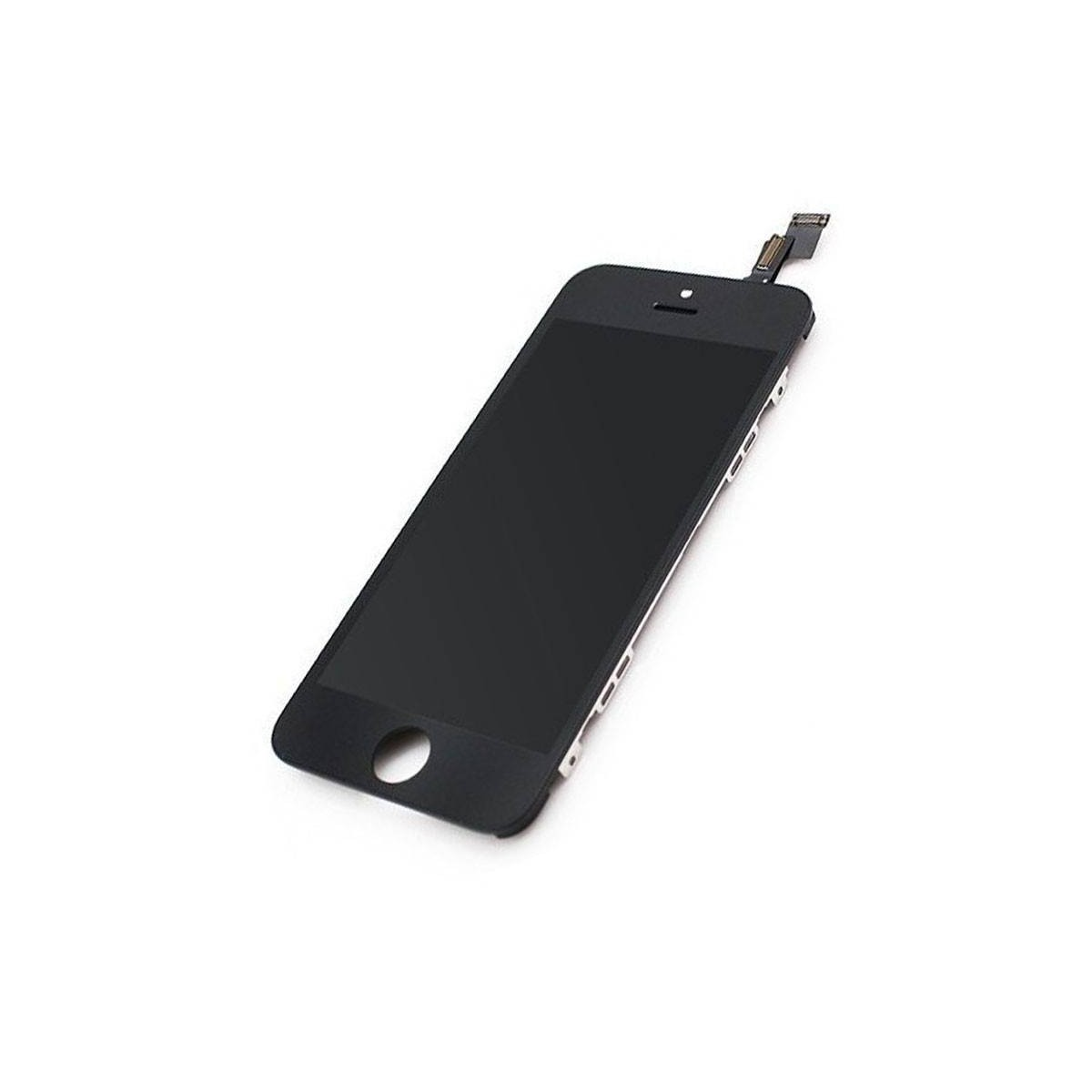 Ecrã completa iPhone 5s em cor preta